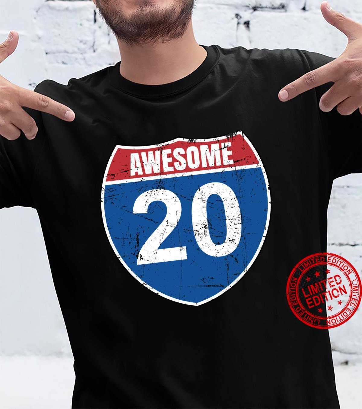 21. Geburtstag Onkel Geburtstagsgeschenk Mann 21 Jahre 2000 Shirt