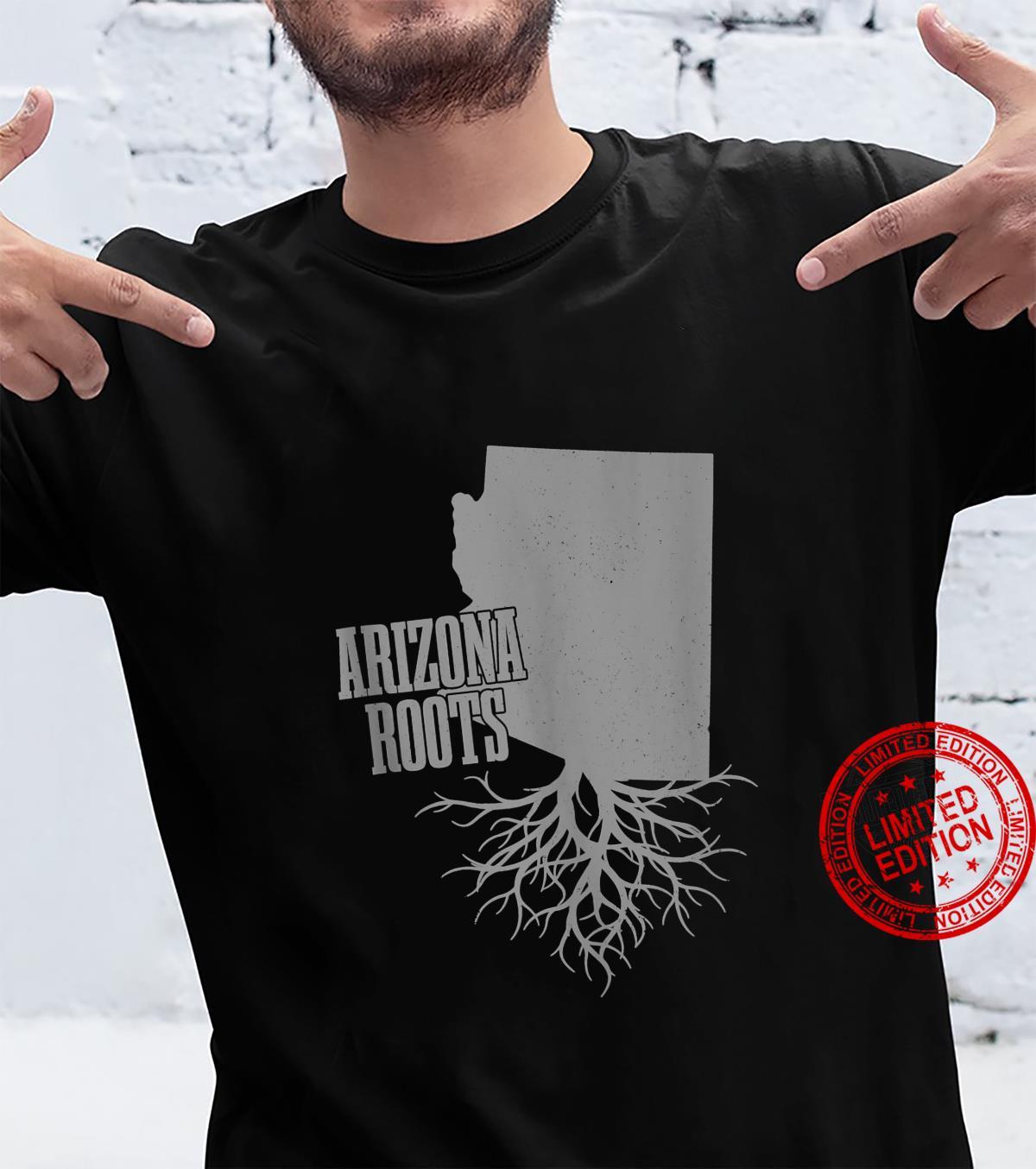 Arizona Roots Vintage Pride State Map Shirt