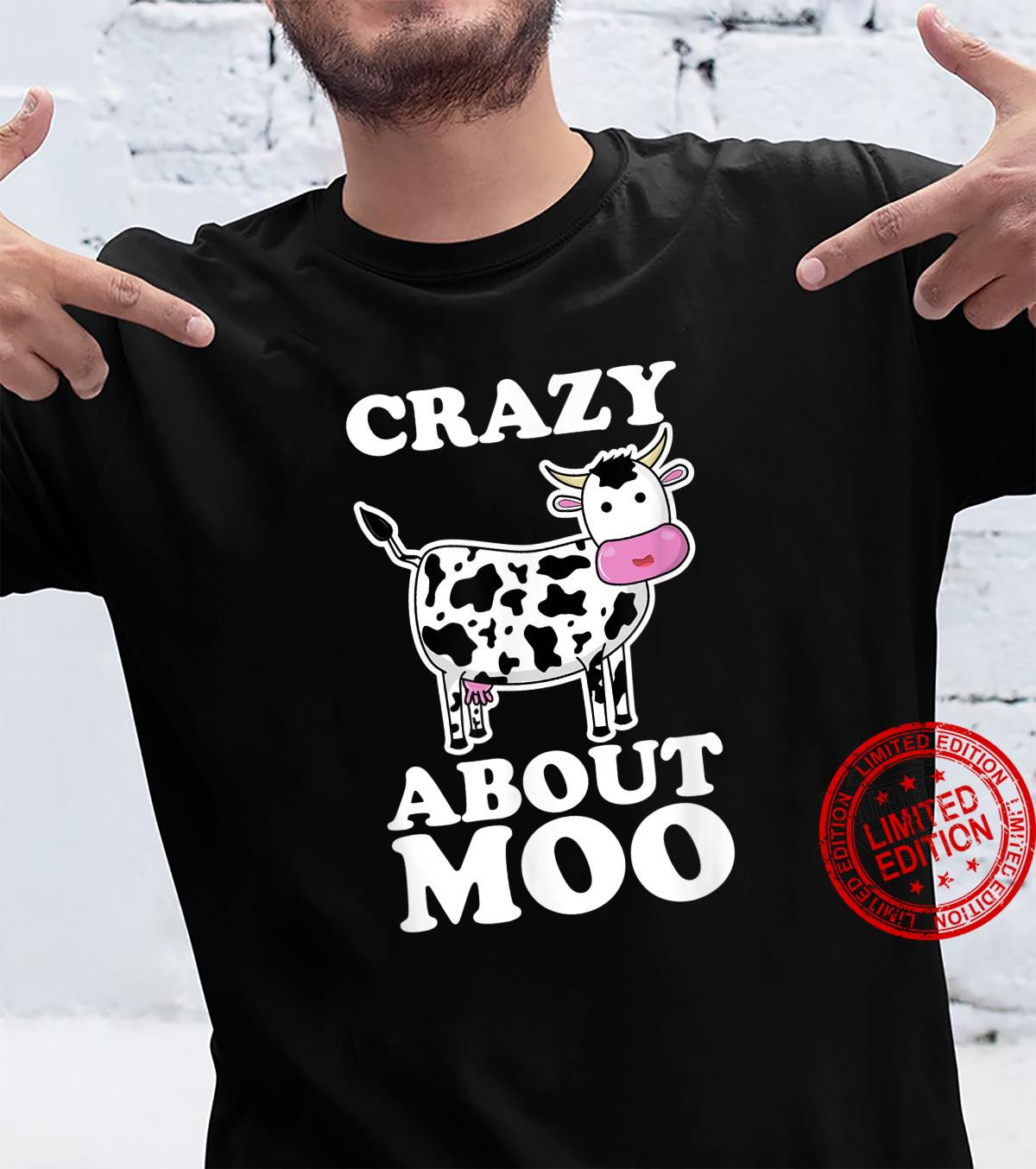 Crazy About Moo, Cows Pun Shirt