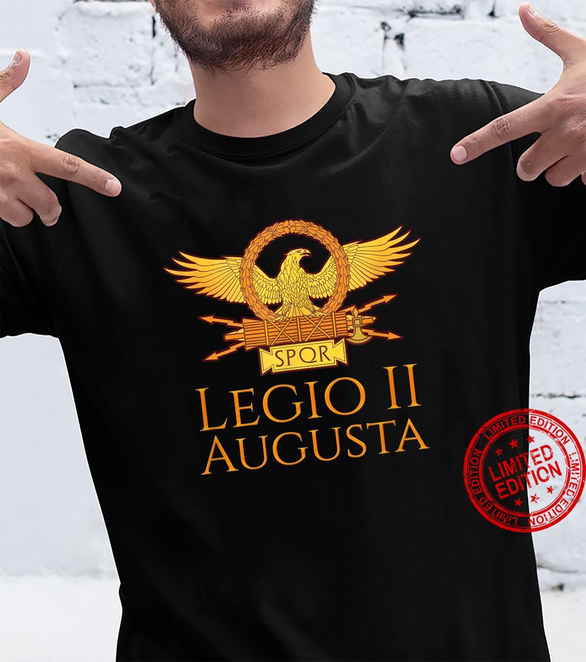 Legio II Augusta Ancient Roman Legion Military History Shirt