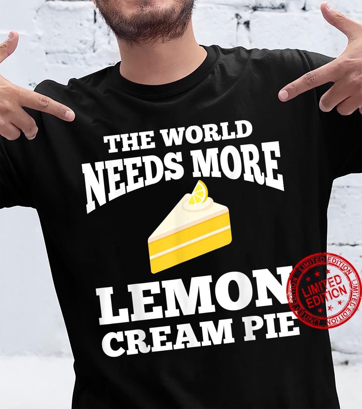 Lemon Cream Pie Apparel Pies Design Shirt