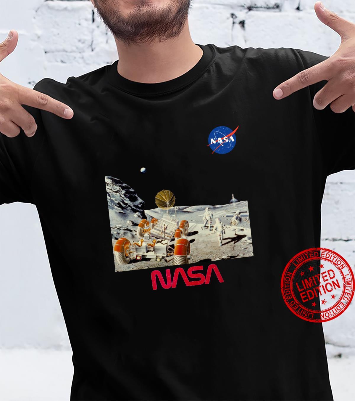 NASA Space Suit Technology Exponat Mondmission Kunstwerk Top Shirt