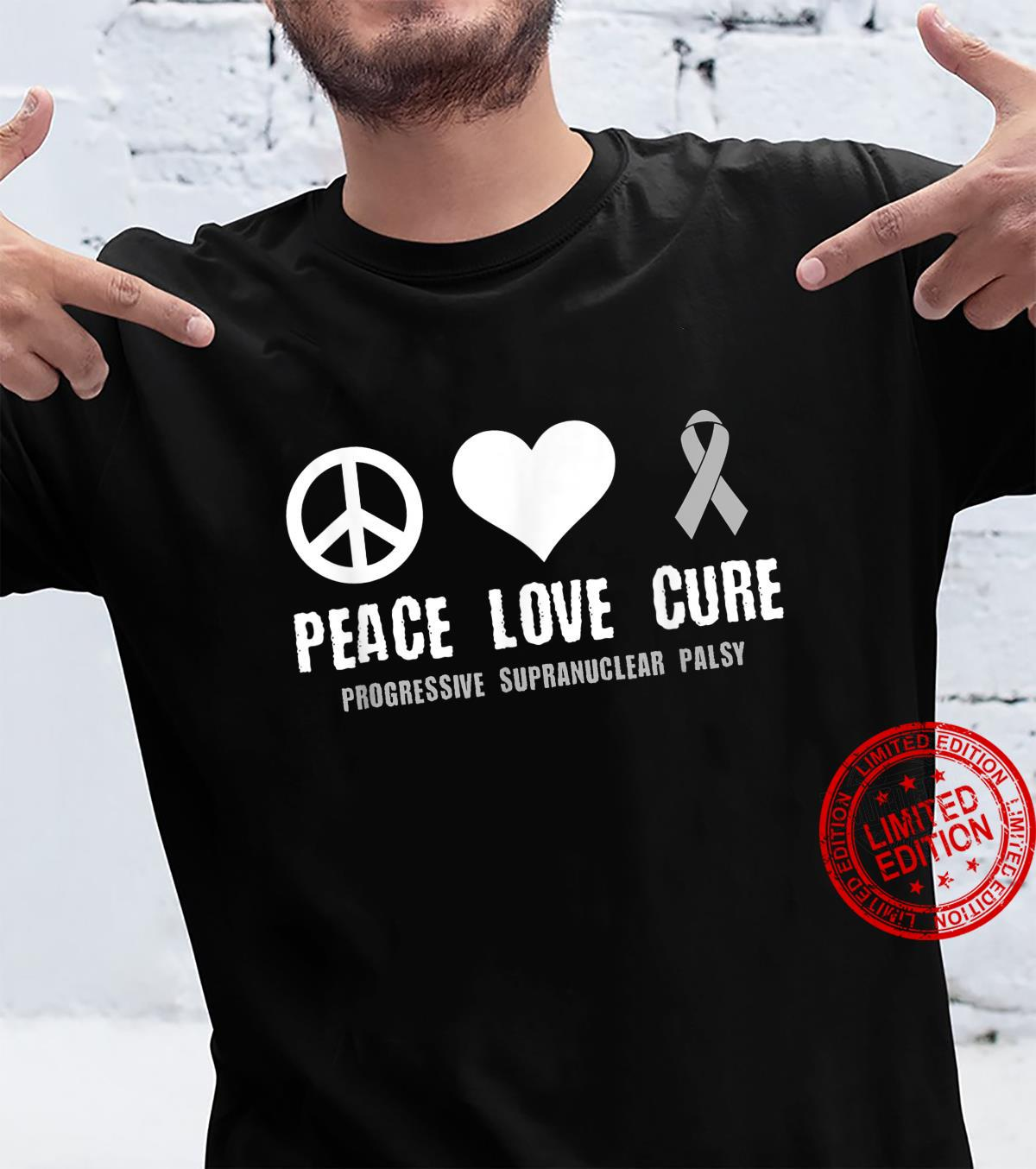 Progressive Supranuclear Palsy Awareness Brain Disease Relat Shirt