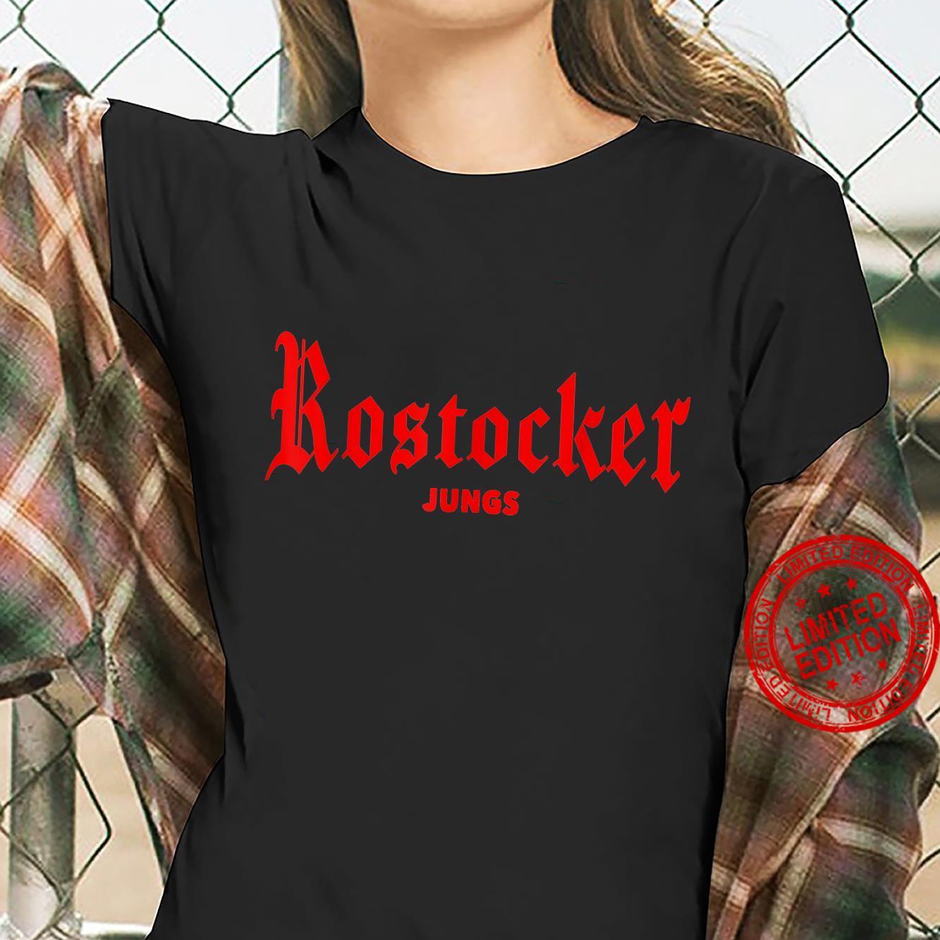Rostocker Boys Hanseatic City Rostock Shirt ladies tee